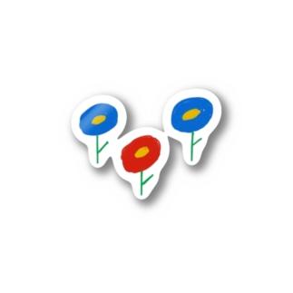 お花畑 Stickers