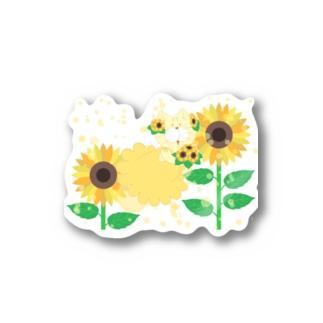 MOF-Island商店の夏だよ!ひまわりの妖精 Stickers