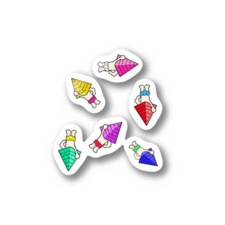 エジプトくんたち Stickers