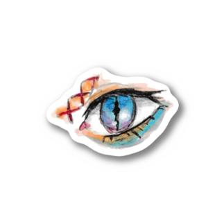 ガラスの目 Stickers