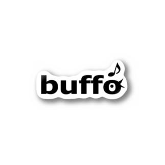 ふぁーむbuffoロゴステッカー Sticker