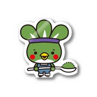 粉ドリ君 Stickers