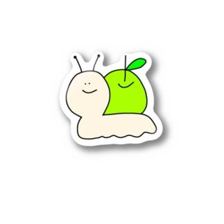 🐌カタツムりんご🍏 Sticker