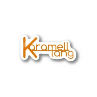 Karamell_klang logo Stickers