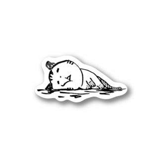 たぬきねこ Stickers
