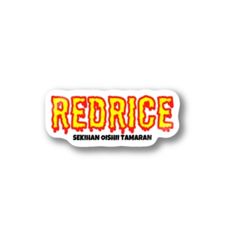RED RICE ステッカー Stickers