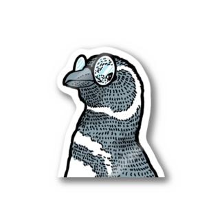 MAJIME  penguin (文字ナシ) Stickers