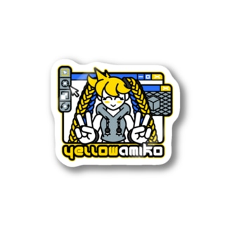 AMIKO 3DCG【RickyWillデザイン】 Stickers
