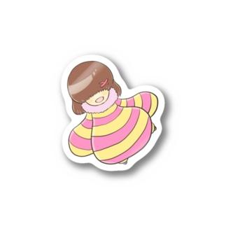 ミル Stickers