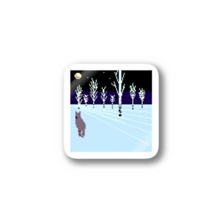 冬の夜 Stickers