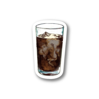 iced coffee(下地なし) Stickers