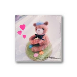 ペン立てクマちゃんステッカー Stickers