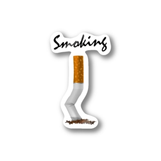 DRIPPEDのSmoking-タバコの吸い殻- Stickers