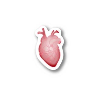 ネオンの心臓 Stickers