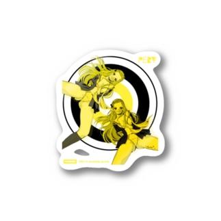 YOU PERV 006 レトロポップ 学園 クラッシュレモンゼリースカッシュ Stickers