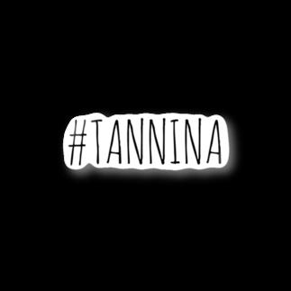 Tanninaの#TANNINA ステッカー