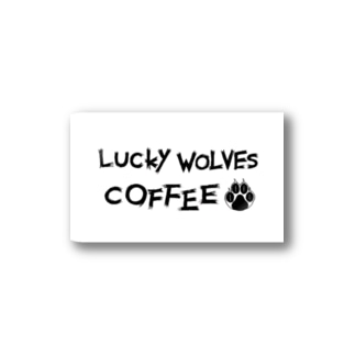 LUCKY WOLVES GOODS Stickers