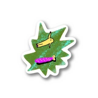 エビフライとプーン Stickers