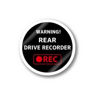 【NEW】カーセキュリティステッカー丸タイプ Stickers