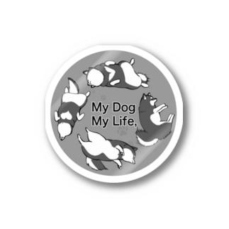 My dog My Life  Stickers