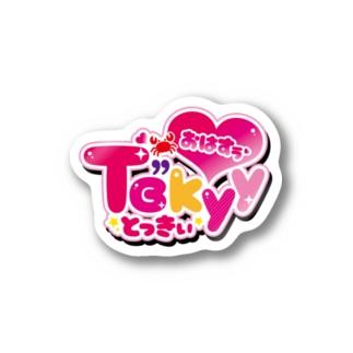 "Tɞ""kyy🦀LOGO Stickers"