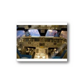 スペースシャトル コクピット Stickers