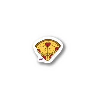 Mr.Big Pizza kiss ステッカー Stickers