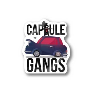 CAPSULE GANGS ステッカー