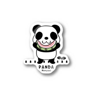 CT169 ズレちゃんとTWIN PANDAS*C*st Stickers