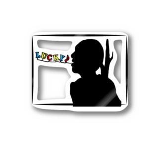 マイトガイのLUCKY (グラス、雑貨) Sticker