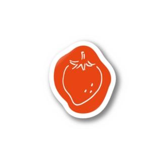 いちごシール Stickers