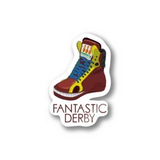 Fantastic Derby(赤毛馬) Stickers