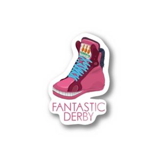 Fantastic Derby(桃毛馬) Stickers