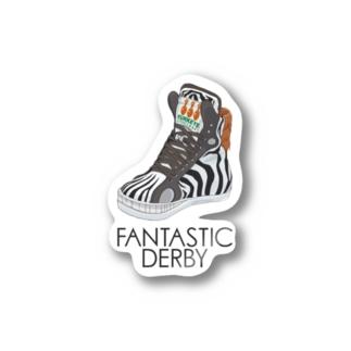 Fantastic Derby(シマウマ) Stickers