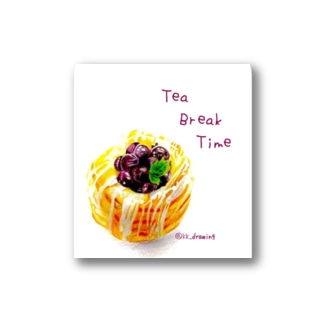 TeaBreakTime Stickers