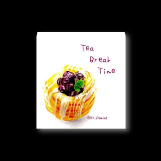 美味しそうな食べ物が描きたいのTeaBreakTime Stickers