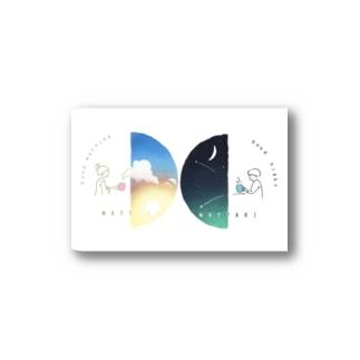 吉村卓也のおはようからおやすみまでステッカー Stickers