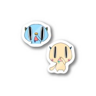 はなほじー&ほじりー Stickers
