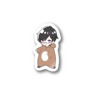 めんとすグッズ Sticker