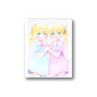 双子ちゃん Stickers