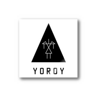 YOROI /white-outside/ Stickers