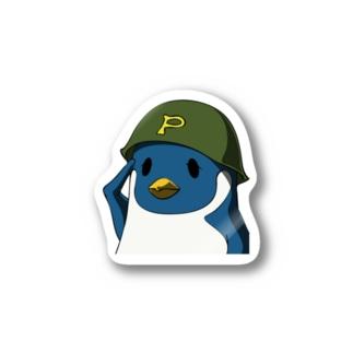 ペンギン軍チャリティアイテム販売 Stickers