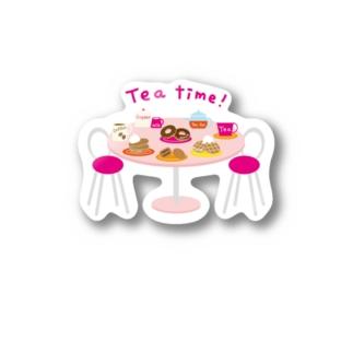 TEA TIME! Stickers