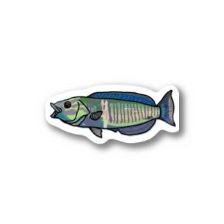 snaggedgorillaのシロタスキベラ Stickers