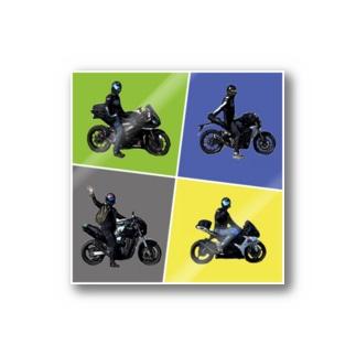 バイク部のバイク部 Sticker