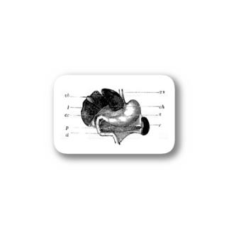 思考回路の末 Stickers