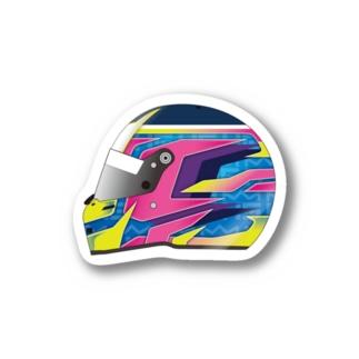 清水啓伸 SupportItems2021 ヘルメットステッカー Sticker