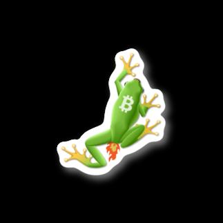 KURINOYA - クリノヤのPROOFOFPEPE Stickers