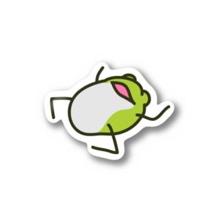 【けこがえる】けー Stickers