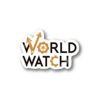 WORLD WATCH Stickers